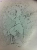 school desk doodle xD by XxdeathbiscuitxX