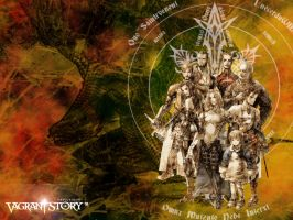 Vagrant Story Cast by fallenRazziel