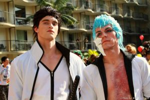 Bleach - Aizen and Grimmjow by BrianFloresPhoto