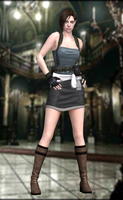 Jill Valentine(RE3) Resident Evil HD by XKammyX
