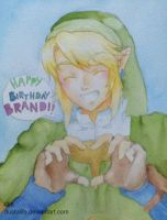 Link Birthday Present by dustoflife
