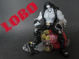 DC comics Lobo custom by LuXuSik