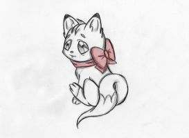Baby Fox by xDevilishAngelx