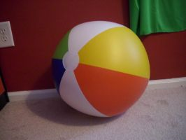 Beach Ball 1 by Nightmare247Stock