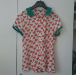 Watermelon blouse by talkenia