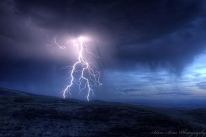 Lightning by adamsimsphotography
