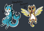 Paypal Double Adopt Auction by Darkaiya