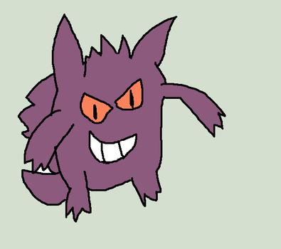 Gengar - my least favorite pokemon by rongothepony