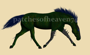 Dragon Horse--FOR SALE **NOW** by patchesofheaven74