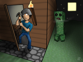 CREEPERS, THEY'RE EVERYWHERE. by budgiesarecool