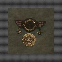 Four Star Cthulhu Airforce War Medal 3 by Windthin