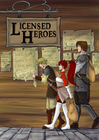 Licensed Heroes Cover by DubiousCompany