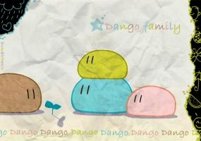 Dango family by BumbleBeesh