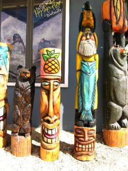 Totem Pole Stock 6 by FairieGoodMother