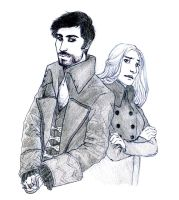 OUAT - CaptainSwan New Adventures by floangel