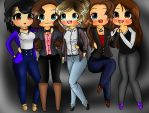 One Direction As Girls by AngelNightmare1441