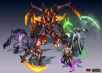 [ MOBA Character] All Character inspired from LoL by thiennh2