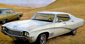After the age of chrome and fins : 1968 Buick by Peterhoff3