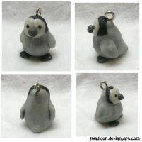 Penguin charm by Swadloon