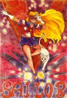 +Fanart+ Sailor V by TrashME
