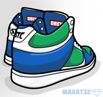 STC dunk by MaxatdesigN