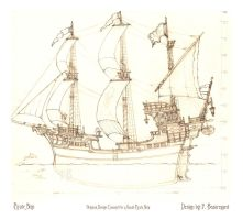 Pirate Ship by Built4ever