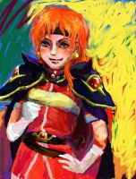 Lina The Dragon Spooker by aylie