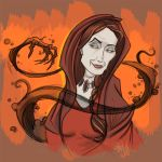 Game of Thrones - Melisandre The Red Woman by DavidONeillArt
