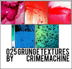 025 Grunge Icon Textures by crimemachine