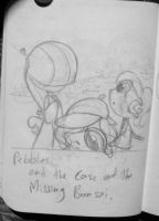 Pebbles and the Case of the Missing Bonsai by BeeTrue