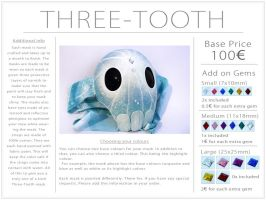 Three-Tooth Mask Commission Info by Kabiscube