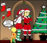 I Saw Mommy Kissin Santa Claus by ToonTwins
