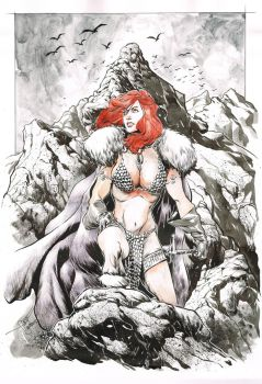 Red Sonja by Kofee77