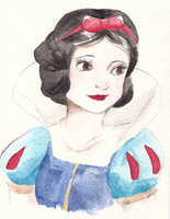 Disney Princess Series - Snow White by maybelletea