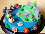 Angry Birds Cake by PaSt1978