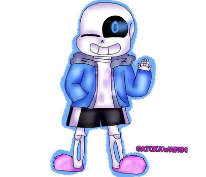 Undertale Sans :3 by Gatokawaii984