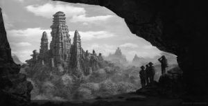 Ancient Temple by Zdenatz