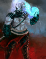 CGhub challenge undead warlord by Taylor-payton
