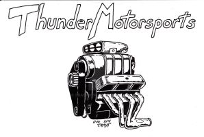 Thunder Motorsports logo by Crash2014