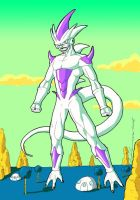 Freezer 4th transformation by Guidotoon