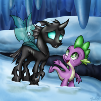 Come and be my friend by GaelleDragons