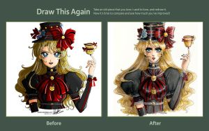 Draw This Again: Alice by wickedz