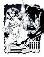 50 Ft Woman vs King Kong by gb2k