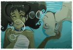 Avatar TLA: Underwater Kisses by ditto9
