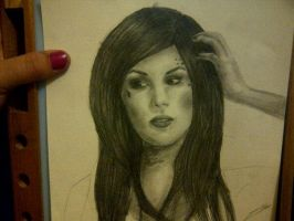 Kat Von D Work in Progress by AmySargeantDesigns
