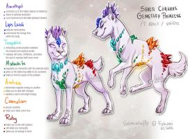 7Chakras Gemstaff - adoptable auction - CLOSED by Fuki-adopts