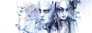 waves - to and fro by agnes-cecile