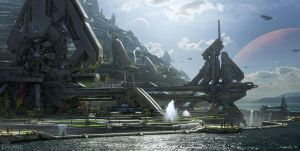 Forerunner City by Vedn
