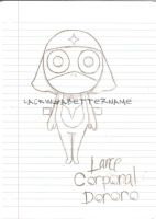 Lance Corporal Dororo by lackingabettername