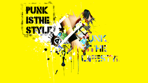 Punk is the style by Dentureleven